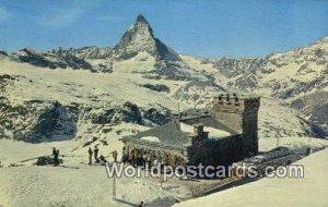 Le Ski Schweizerisches Suisse Swizerland Unused