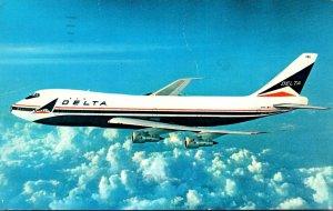 Delta Airlines Boeing 747 Superjet 1984