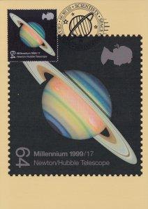 Grantham Lincolnshire Telescope Space Centre FDC Postcard