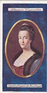 Player Vintage Cigarette Card Miniatures No 7 Elizabeth Margravine Of Anspach...