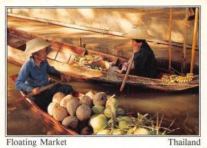 Thailand Bangkok Floating Market Marche