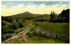 VT - Near Rutland. Mount Killington