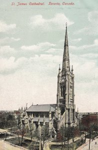 TORONTO, Ontario, Canada, 1900-1910's; St. James Cathedral