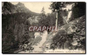 The Dauphine - Ascension Belledonne - The Stop the & # 39Oursiere - horse - h...