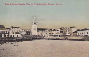 Portugal, Vista de Ponte Delgada, 00-10s Azores