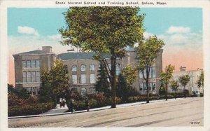 Massachusetts Salem State Normal School And Training School
