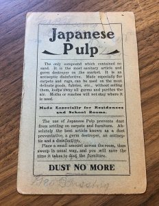 Huntington, W. Va. PACIFIC MANUFACTURING - JAPANESE PULP PRICE LIST WOOD LUMBER