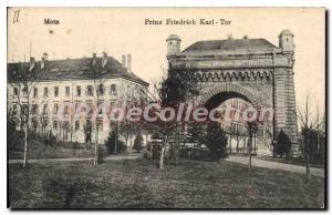 Old Postcard Metz Prinz Friedrich Karl Tor