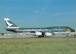 Cathay Pacific Boeing B747 467 B HOX