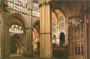 Spain, TOLEDO, Cathedral, Lateral body and Transept, unused Postcard