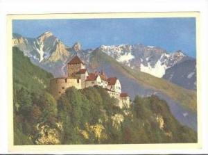 RP: Liechtenstein, Castle Vaduz, 40-60s