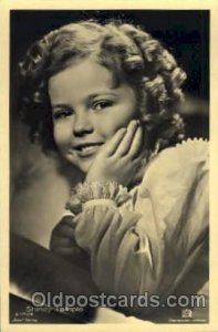 Actress Shirley Temple Unused