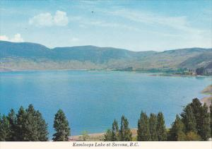 Canada Kamloops Lake at Savona British Columbia
