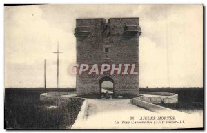 Old Postcard Chateau Aigues Dead Tower Carbonear