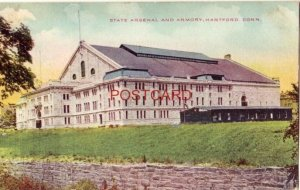 1909 STATE ARSENAL  ARMORY HARTFORD CT. grand dedication to be held next month