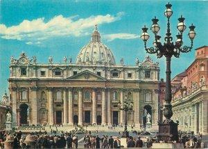 Postcard Italy Cita del Vaticano Basilica di S Pietro