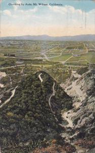 California Mount Wilson Climbing By Auto 1922