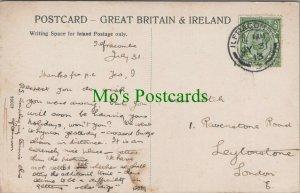 Family History Postcard - Fitch -1 Ravenstone Road, Leytonstone, London RF8274