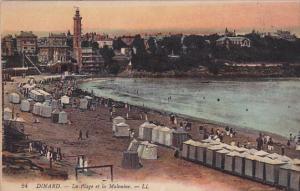 La Plage Et La Malouine, DINARD (Ille Et Vilaine), France, 1900-1910s