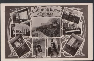 Staffordshire Postcard - The Crooked House (Glynne Arms) at Himley  RS6083