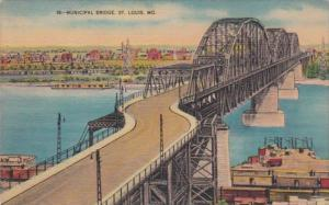 Missouiri St Louis The Municipal Bridge