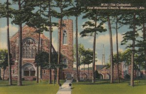 MONTGOMERY , Alabama , 1930-40s ; The Cathedral , First Methodist Church