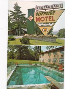 Cliffside Motel & Restaurant, Swimming Pool, Harpers Ferry, WV , 50-60s