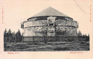 Martello Tower, Halifax, Nova Scotia, Canada, Early Postcard, Unused