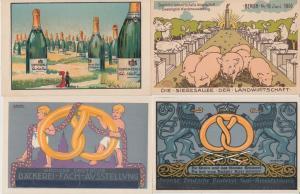 ALLEMAGNE PUBLICITÉS GERMANY ADVERTISING 9 MIEUX CARTES POSTALES