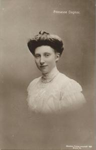 Princess Dagmar of Denmark (1910s) Danish Royalty RPPC Postcard