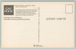 Louisville Kentucky~Galt House Hotel~Vintage Postcard