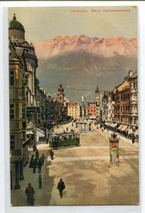 Maria Theresienstrasse Innsbruck Austria 1910s postcard