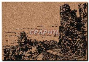 Old Postcard Corsica Corsica Corsica Calanche