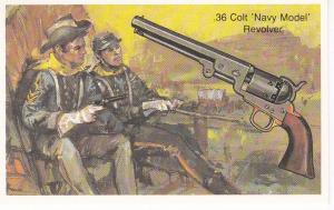 Cigarette Cards Wills – Embassy World of Firearms No18 .36 Colt Navy Model