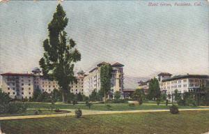 California Pasadena Hotel Green