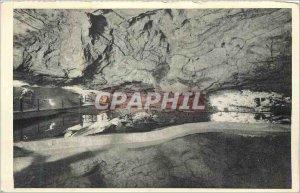 Old Postcard Padirac Lake great gours