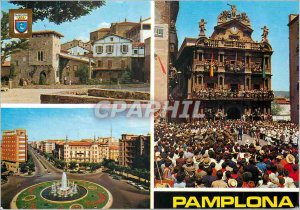 Postcard Modern Pamplona (Navarra)