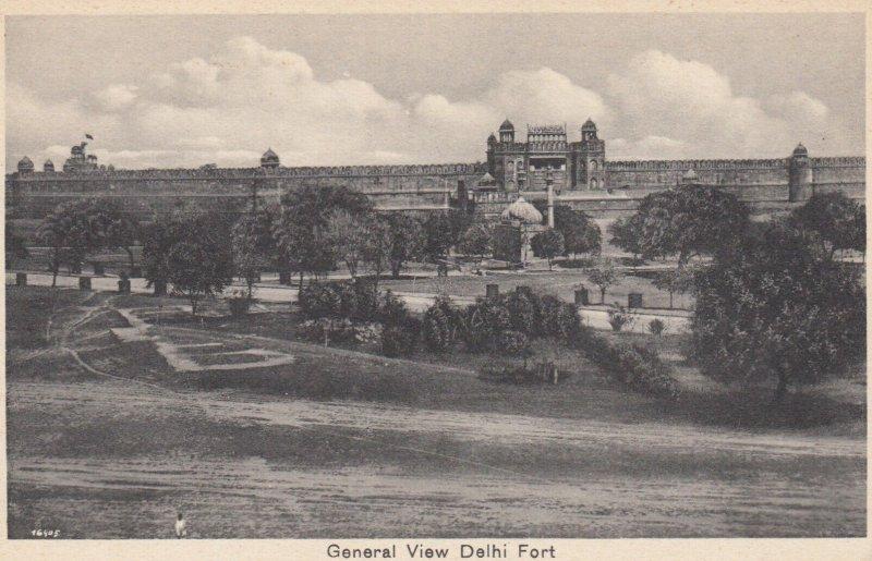 General View Delhi Fort , India , 00-10s