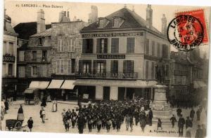 CPA Langres - Place Diderot (270371)