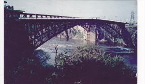 Reversina Falls and Saint John Bridge,  Truro,  N.S.,  Canada,  40-60s