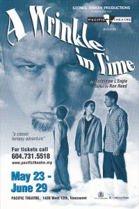 A Wrinkle In Time Pacific Theatre Vancouver Canada