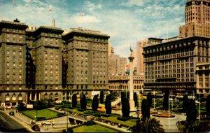 California San Francisco St Francis Hotel