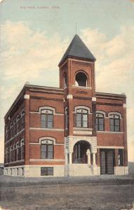 Lawton Oklahoma~First City Hall~Gone Now~c1908 Postcard