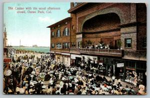 Ocean Park CA~Casino Band on Balcony~Shooting Gallery~Le Petite Theatre~1910 PC