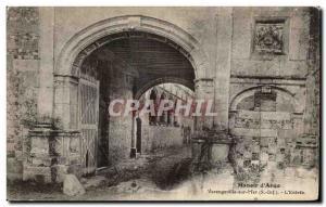 Varengeville-sur-Mer - Manor of Ango - The Entrance - Old Postcard