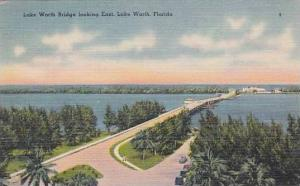 Florida Lake Worth The Lake Worth Bridge Looking East