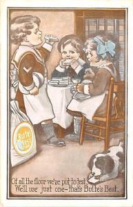 Advertising Post Card Bulte's Best J. Bulte Miling Co. Kansas City, MO U...