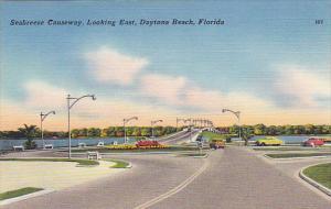 Seabreeze Causeway Looking East Daytona Florida