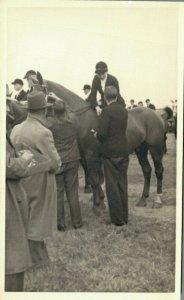 Hippique Sports Horses RPPC Postcard Lot of 5 -   01.17