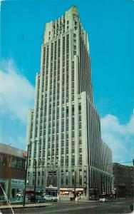Akron Ohio~First National Tower Building~Roby Lee Co 1950s PC